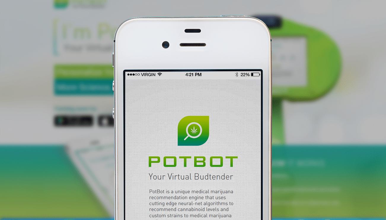 Nación Cannabis | PotBot, la app que encuentra exactamente la marihuana medicinal que necesitas