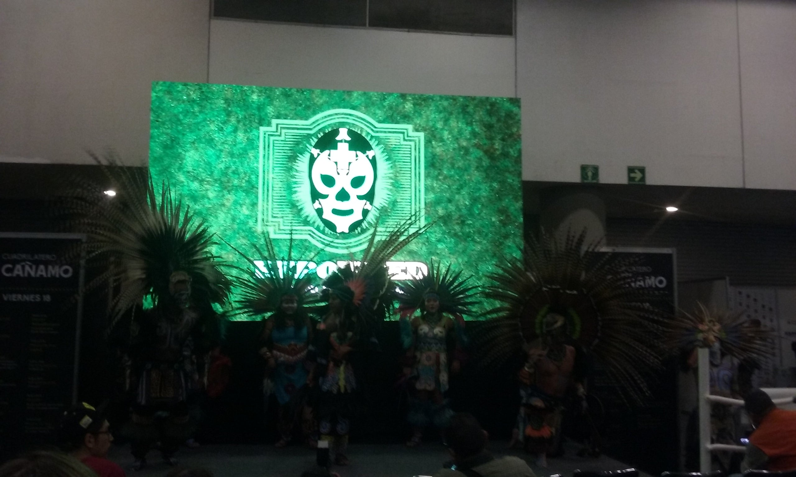 Inauguración de Expoweed México 2017