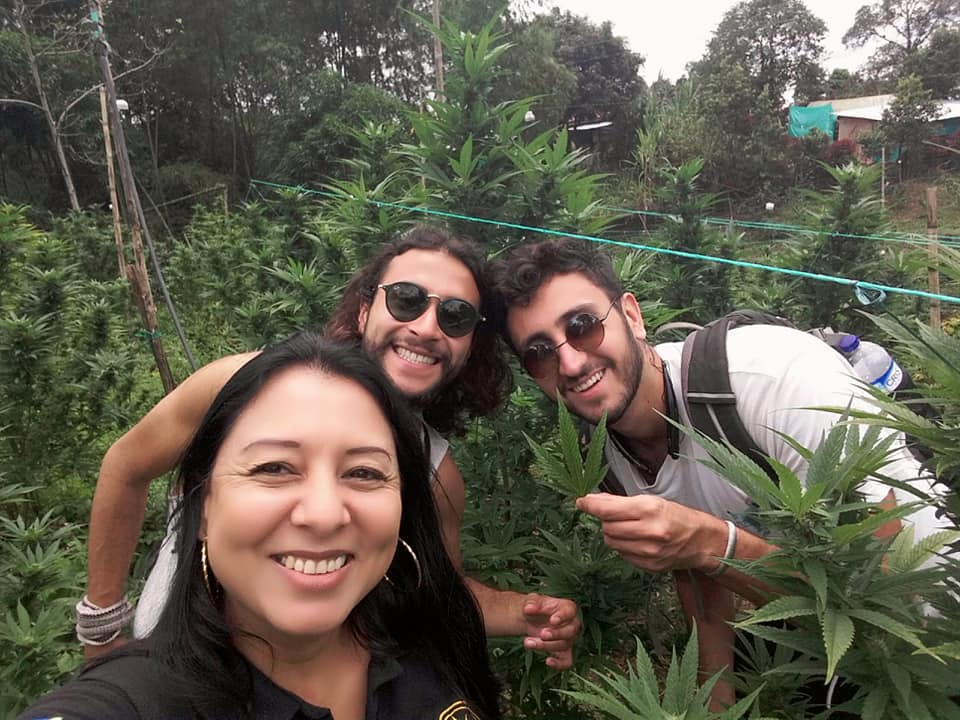 Mónica Blanco Colombia Cannabis Tour