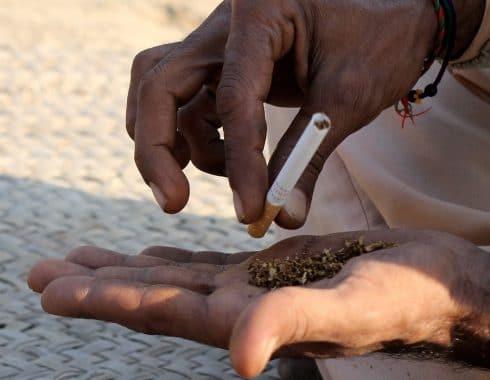 personas fumadoras
